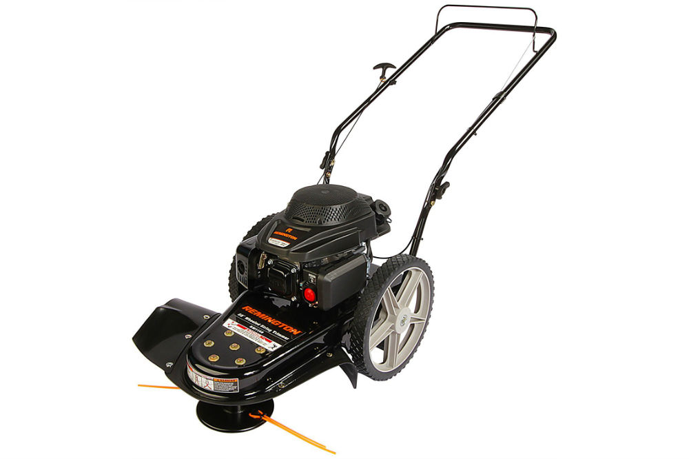 Remington 22 Inch Trimmer Lawn Mower Review The Lawn